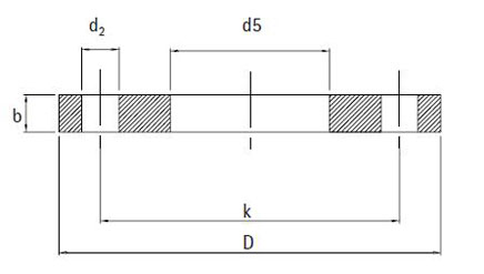 Фланец плоский DIN 2576